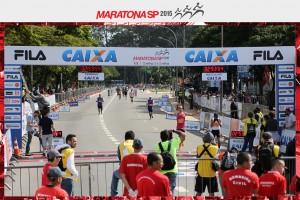 Chegada Maratona de São Paulo 2015