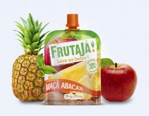 Maça com banana Frutajá!